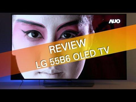 LG 55B6 B6 OLED TV review