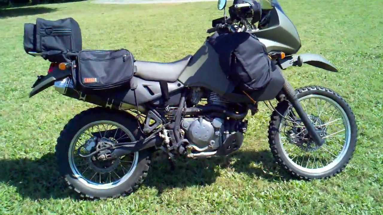 small resolution of 2008 klr650 with lexx exhaust