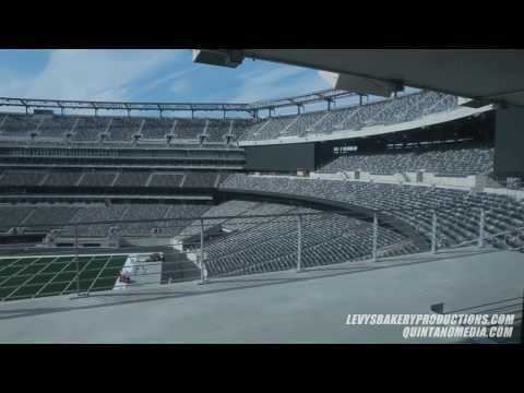 NY Jets New Meadowlands Stadium Tour  11-21-2009