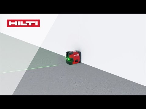 HOW TO align pipes using the Hilti PM 2-LG green line laser level