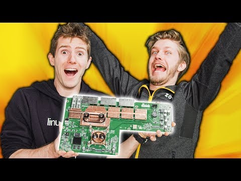 Water Cooling a Network Switch!
