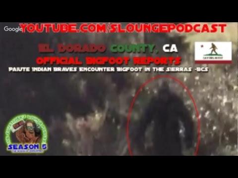 El Dorado County California Bigfoot Encounters - SLP534
