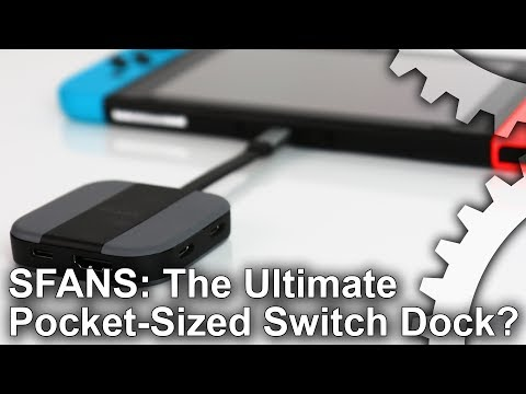 SFANS Switch Pocket Dock Review: The Best Replacement Dock?
