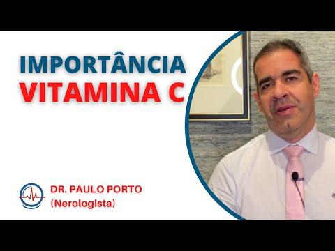 IMPORTÂNCIA DA VITAMINA C - DR. Paulo Porto #importanciavitaminac