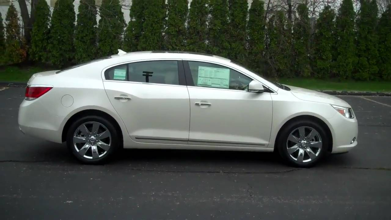 New 2011 Buick LaCrosse CXS at Lochmandy Motors - YouTube