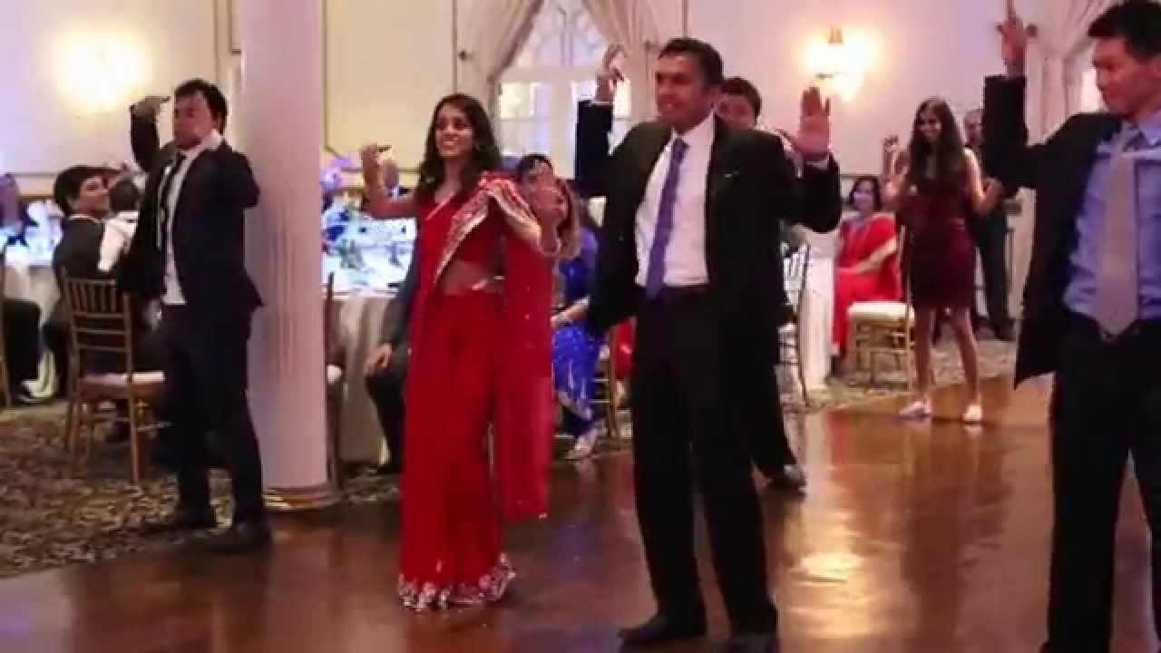 Bollywood Wedding Reception Entrance Dance
