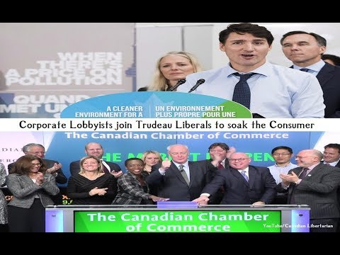 Corporate Lobbyists join Trudeau Liberals to soak the Consumer