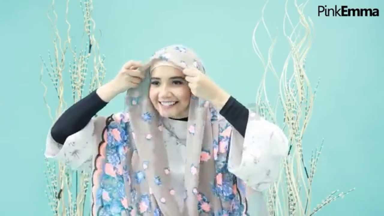 Tutorial Hijab Zaskia Sungkar Praktis Untuk Daily Look Youtube