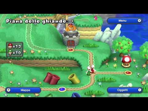 [ITA] Let's Play: New Super Mario Bros. U - Mondo 1: Piana delle Ghiande