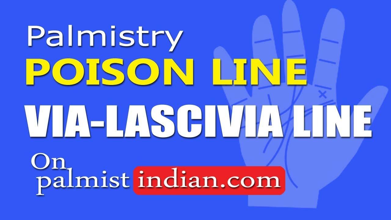 online store c4f0d 47cf4 कामुकता रेखा Poison Line Via Lascivia Line Palmistry Reading By Palmist  Manish