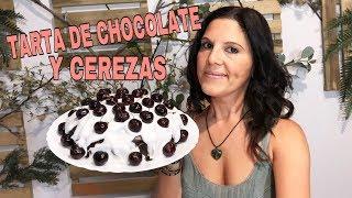 ESPECTACULAR❗️ Tarta  De Chocolate y Cerezas/ Vegana Sin Gluten