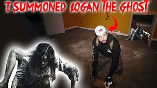 LOGAN THE GHOST IS TOMS BROTHER // I SUMMONED LOGAN THE GHOST ON THE HAUNTED OUIJA BOARD | MOE SARGI