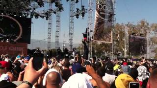 "DJ Quik ""Good Times Theme Song"" Live at Rock the Bells 2012"