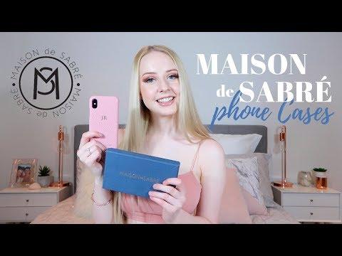 MAISON de SABRE Phone Cases | Unboxing & Review