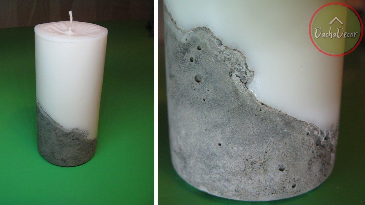 Свеча из бетона бетон белоярский