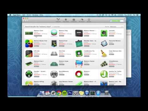 How to Clean Your Memory (Ram) - Mac OSX Tutorial