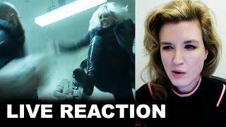 Atomic Blonde Teaser Trailer REACTION