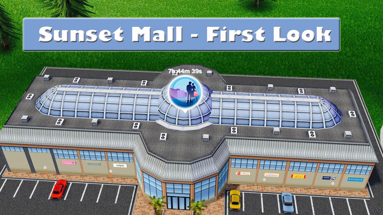 Verdieping Sims Freeplay Sims Freeplay Sunset Mall First Look