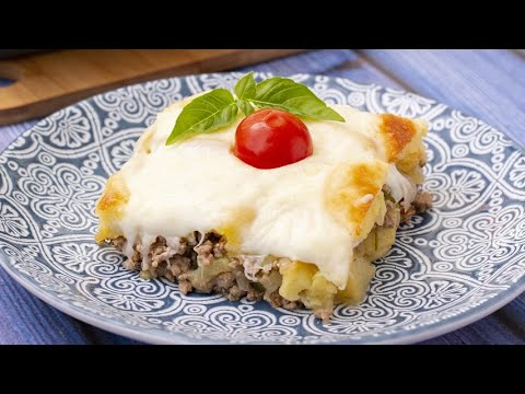 Layered Beef Potato Casserole: Perfect For A Quick And Tasty Dinner Meal!