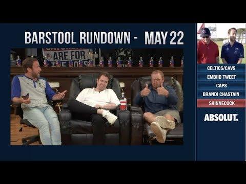 Barstool Rundown - May 22, 2018