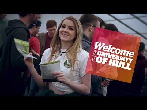 Welcome 2017 - Societies Fair - University of Hull