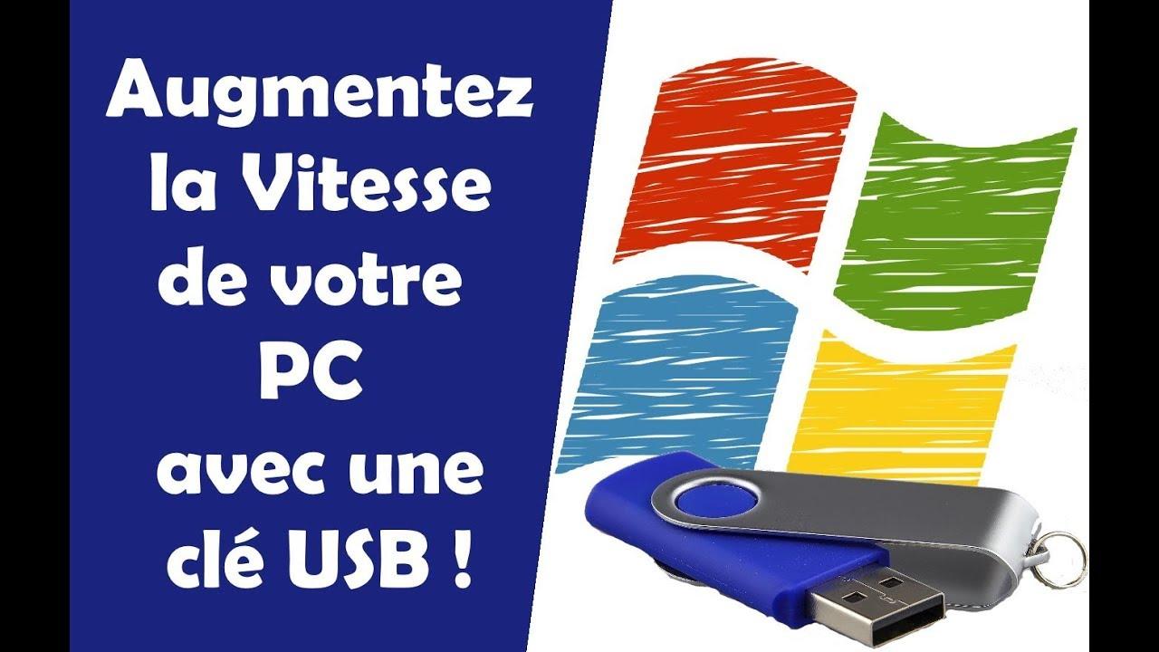 Download Augmentez la Vitesse de Votre PC avec une CLE USB ! Ready Boost pour Windows 10, 8 et 7