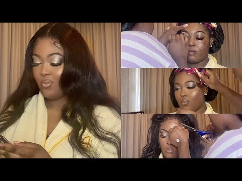 CLIENT SERIES   HAIR AND MAKEUP TRANSFORMATION FT DSOAR HAIR