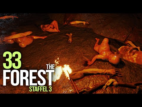 THE FOREST [S03E33] - EKELHAFTE Grusel-Katakomben ★ Let's Survive The Forest