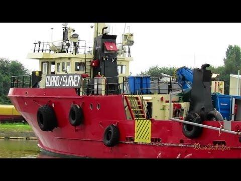 offshore guard survey vessel HANS M OUSK2 IMO 8981913 Emden