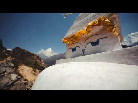 Magic Himalayas. Everest base camp trekking in 7,5 minutes.