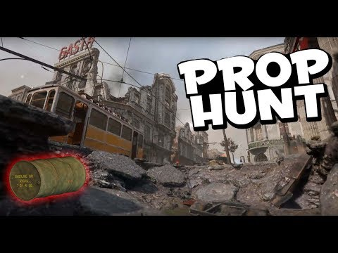 cod ww2 prop hunt how to change