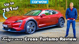 Porsche Taycan Cross Turismo 2021 review - better than my RS6?! 😱