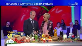 Luca Piretta a TV2000: Reflusso e gastrite: cause e rimedi thumbnail