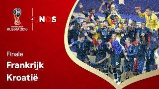 Frankrijk - Kroatië (finale) I WK 2018