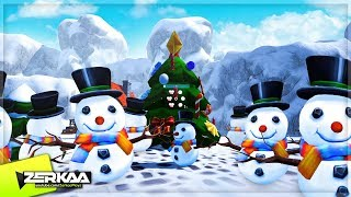 BIGGEST SNOWBALL FIGHT! (Winter Warland)