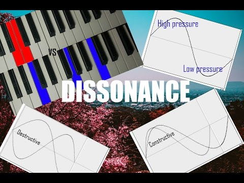 How does dissonance work? Why do some notes sound bad together?