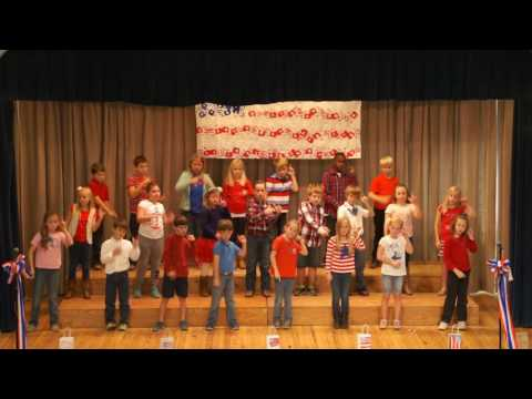 God Bless the U.S.A. Performed by Aucilla Christian Academy Third Graders