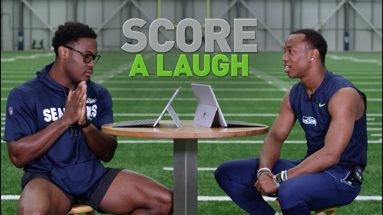 Seahawks Score A Laugh: Ugo Amadi & Terry Wright