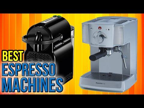 9 Best Espresso Machines 2016