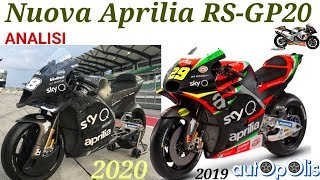 NUOVA APRILIA rs-gp20! MOTOGP. SI FA SUL SERIO!..