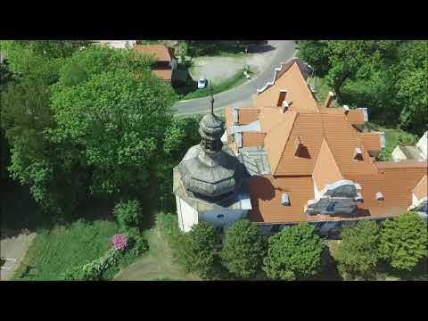 Pałac w Turawie filmowany z Drona DJI Inspire