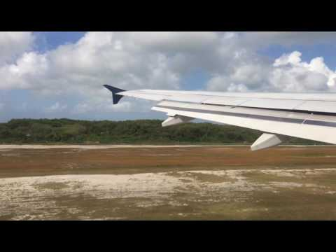 Delta Takeoff in Grand Cayman