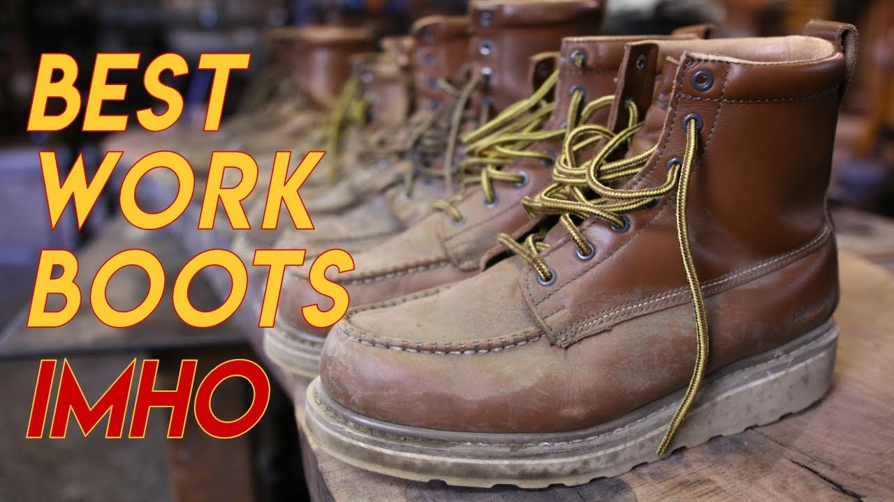 4ed120cab1a Greatest Value Work Boots