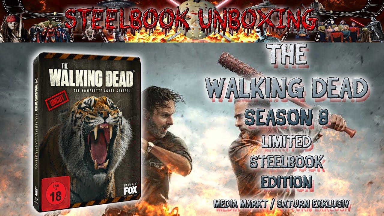 Unboxing The Walking Dead Season 8 Weapon Steelbook