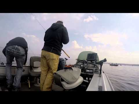 Wild Crappie fishing on Lake Winnebago in Fond du Lac WI