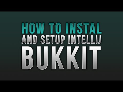How to Install and Setup Intellij for Bukkit Coding