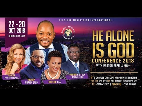 He Alone Is God with Pastor Alph Lukau