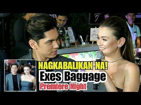 Exes Baggage Premiere Night  Angelica Panganiban & Carlo Aquino