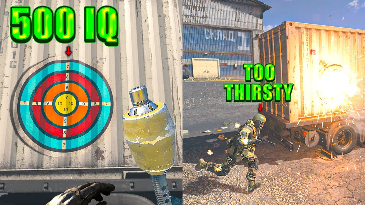 Way TOO THIRSTY 💧 (Warzone Highlights and Funny Moments #308)