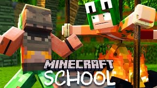 Minecraft School - SAVING ALL OF OUR CLASSMATES ON VACATION!